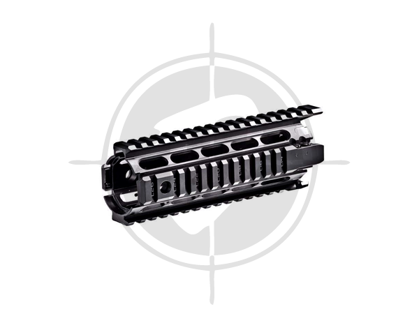 CAA Picatinny Aluminum QUAD RAIL for AR15,M4, Model X4MS picture