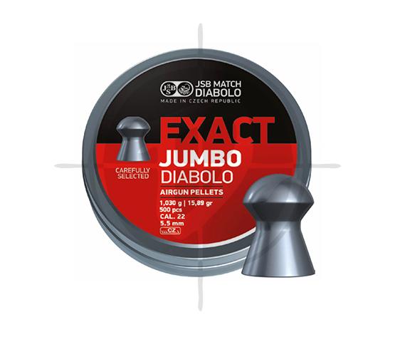 JSB Exact Jumbo Diabolo Cal22 15.89 gr. picture