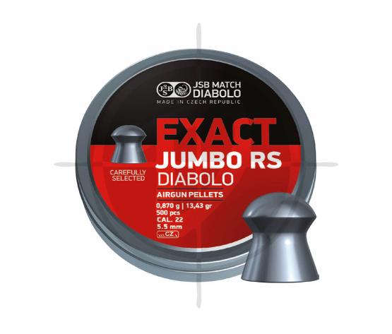 JSB Exact Jumbo RS Diabolo Cal22 13.43 Pellets picture