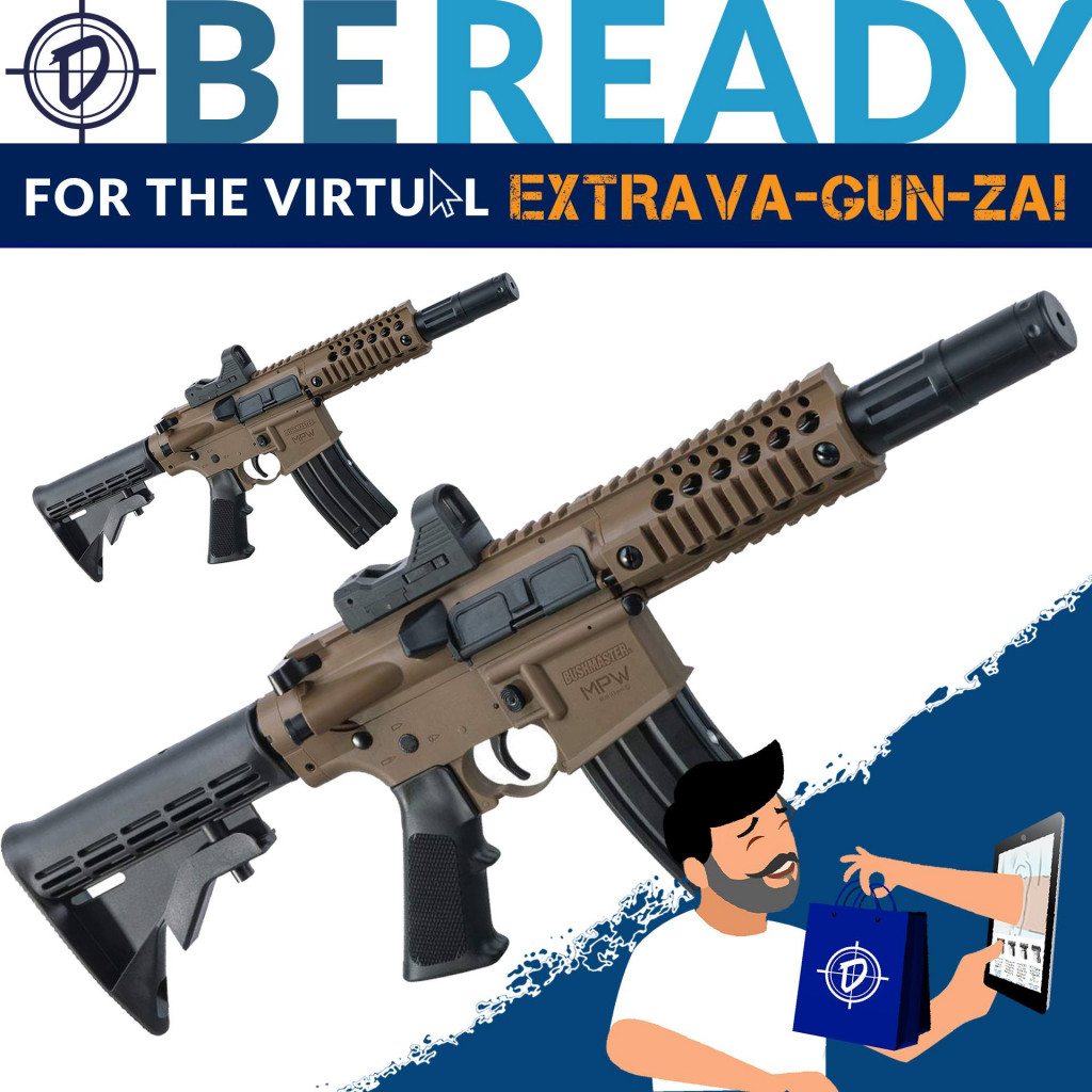 Are you ready for P.B.Dionisio & Co.'s Virtual Extrava-Gun-Za Event! From July 9 to July 13, join us for an online event. We're going through an unprecedented time. Count on P.B.Dionisio & Co. to help you be ready to defend, to protect and to win.