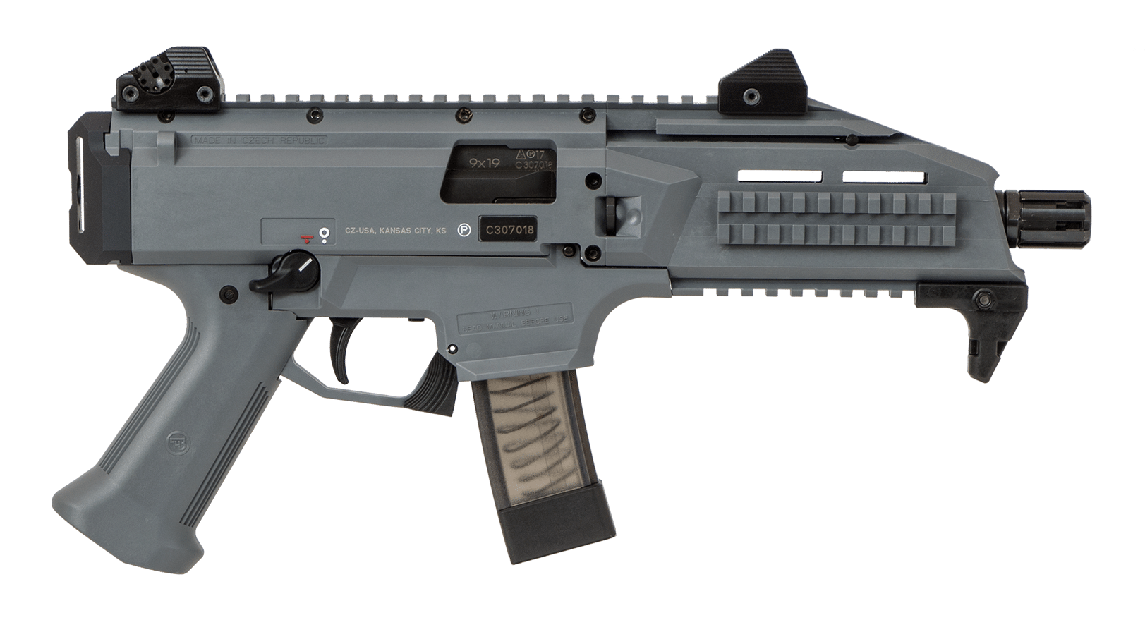 Get the CZ Scorpion EVO3 S1 Grey from P.B.Dionisio & Co.