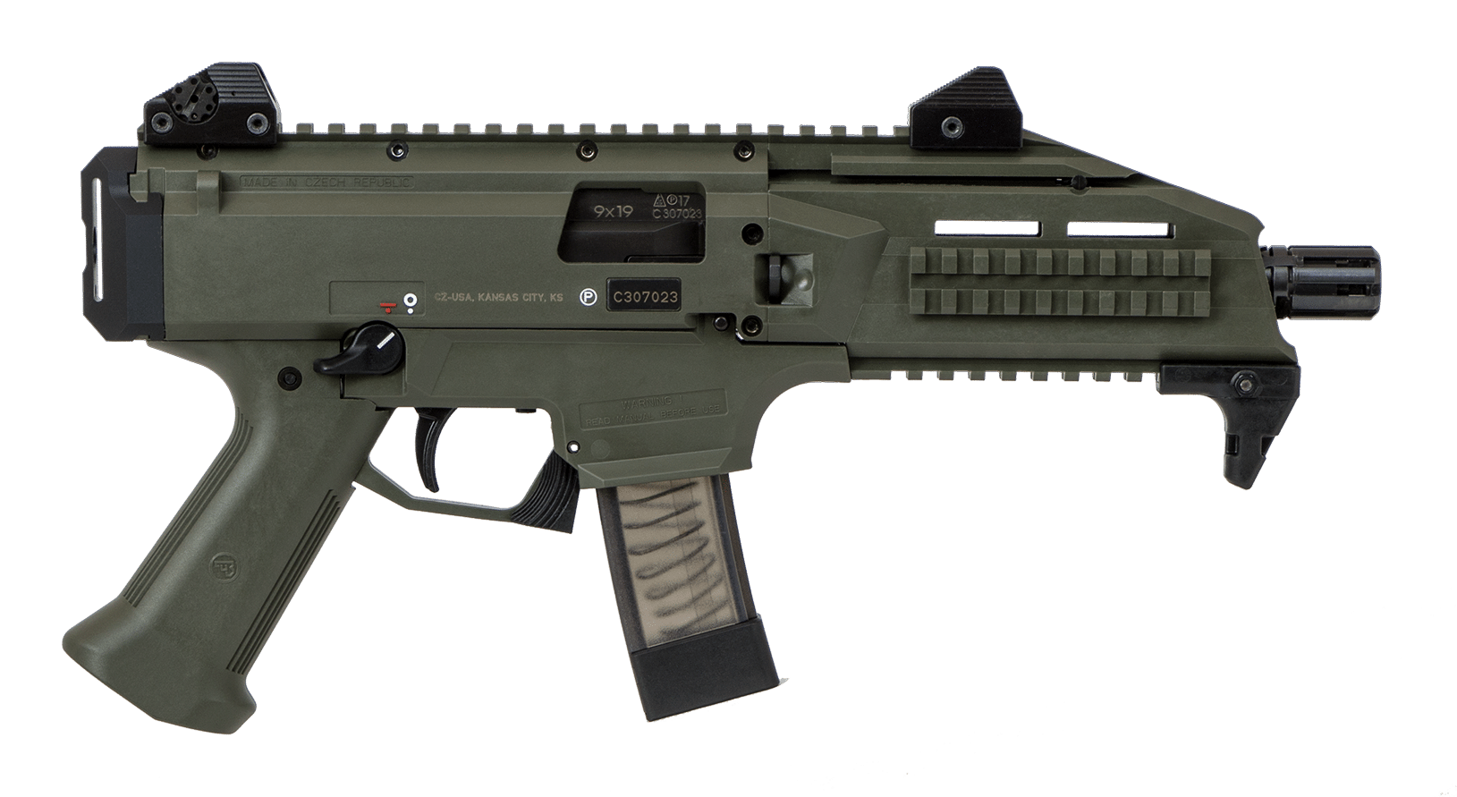 Get the CZ Scorpion EVO3 S1 OD Green from P.B.Dionisio & Co.