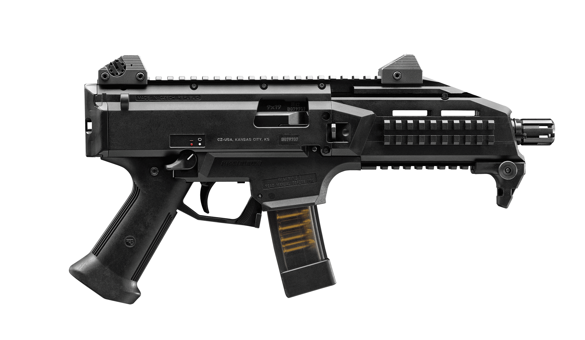 Get the CZ Scorpion EVO3 S1 Black from P.B.Dionisio & Co.