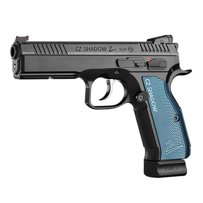 Be ready to dominate with the CZ Shadow 2 Blue.
