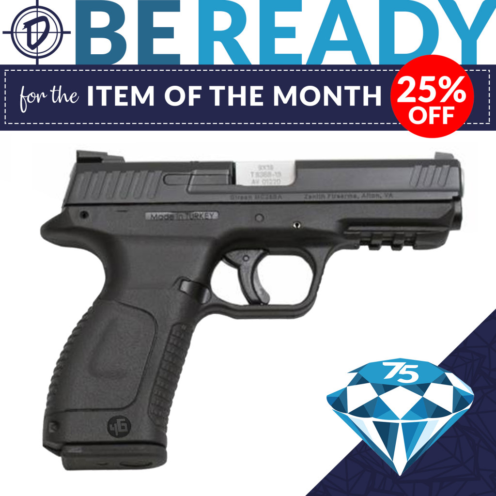 Be ready for the Item of the Month. During P.B.Dionisio & Co.'s 75th Anniversary, save on this Item of the Month!